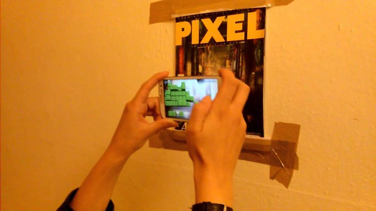 ARnoid - Arkanoid clone in augmented reality. #AR #pacman #spaceinvaders