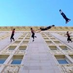 Waltz on the Walls: An Aerial Dance Performance on the Side of Oakland's City Hall