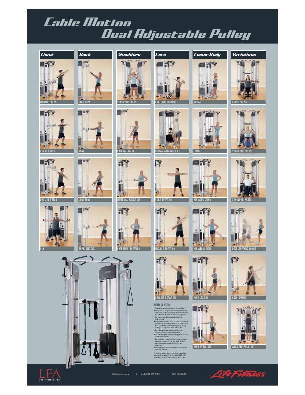Pulley Exercises Exercise Pinterest Exercise Cable Workout