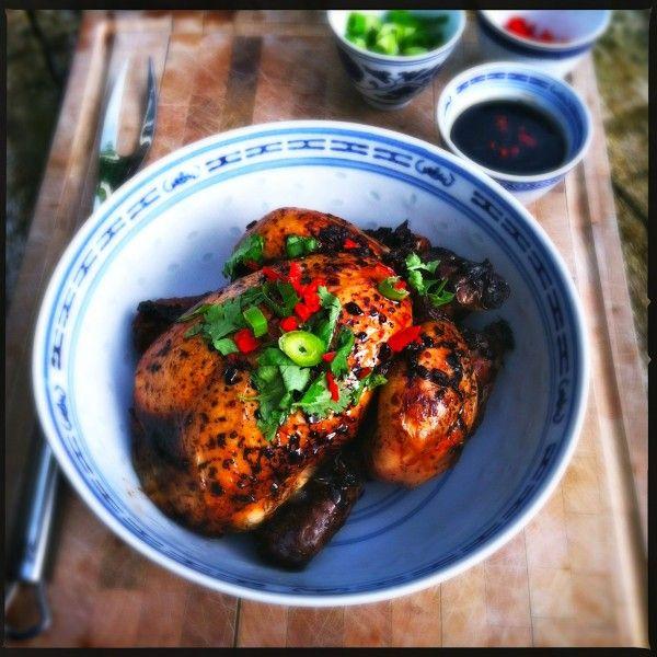 Madebyellen.com Aziatische kip met IKI beer