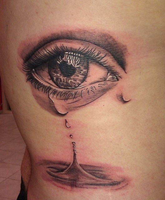 crying eyes tattoo - Google Search | Tattoos | Pinterest
