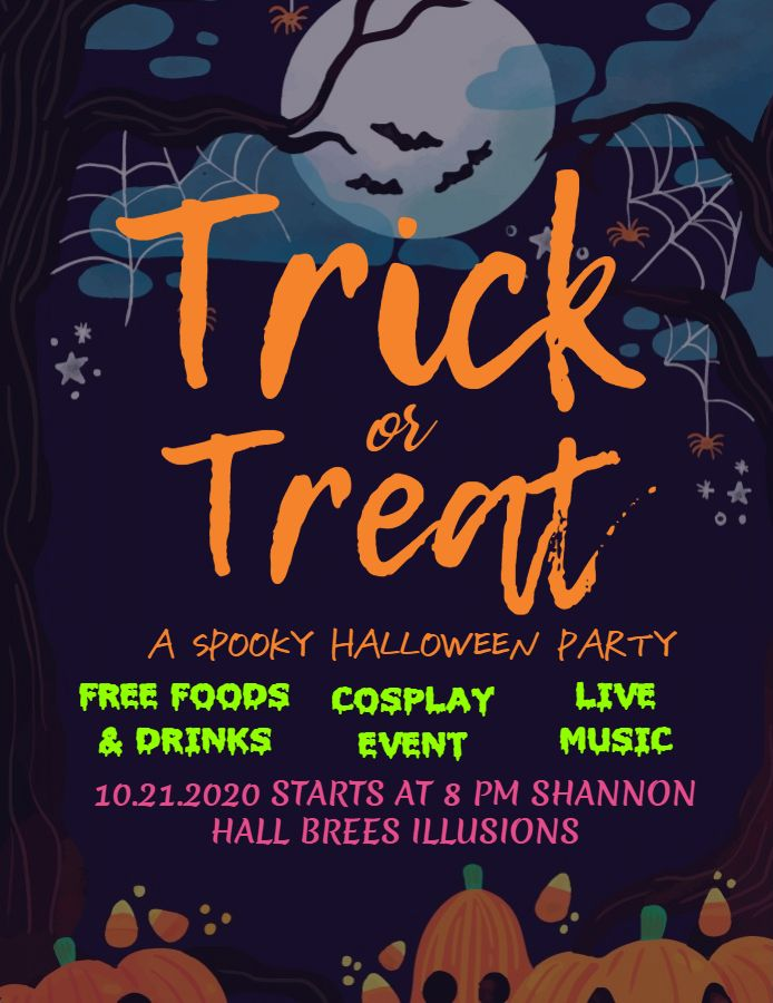 Children S Halloween Party And Cosplay Event Invitation