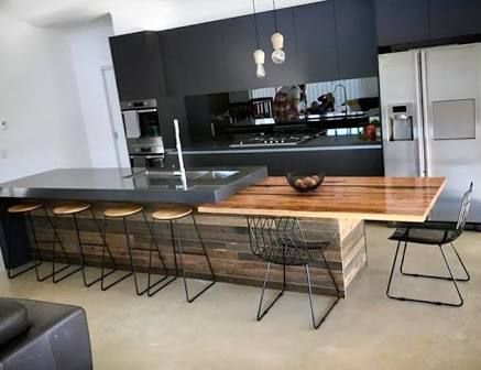 Image result for benchtop with dining