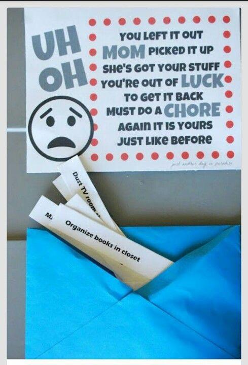 Awesome chore idea!