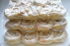 Dondurucu İçin Patatesli Gül Böreği Yapımı Tarifi. Hojaldres rellenos de papa para congelar