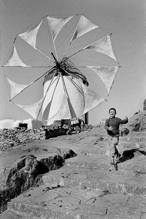 #Mykonos in 1975... Photo:R.Burri