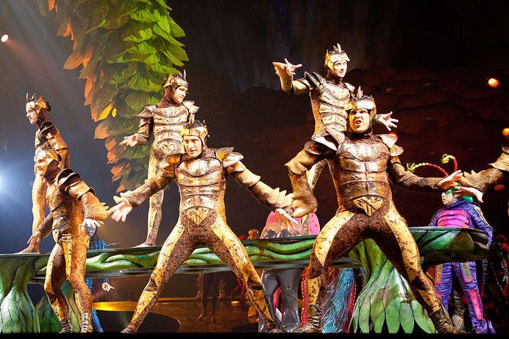 Liz Vandal costumes at OVO! by Cirque de Soleil