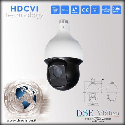 DS-L5922IHC Telecamera a colori speed dome ottica 4.7-94mm (20x zoom ottico) IR impermeabile