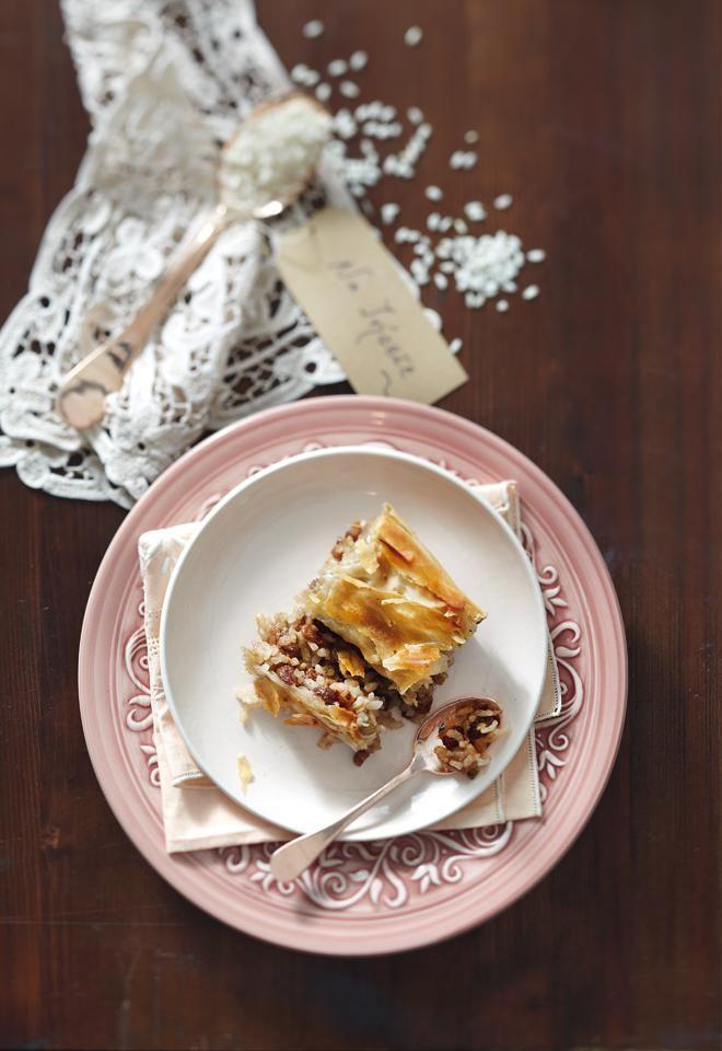 Ρυζόπιτα γλυκιά της Θεσσαλίας