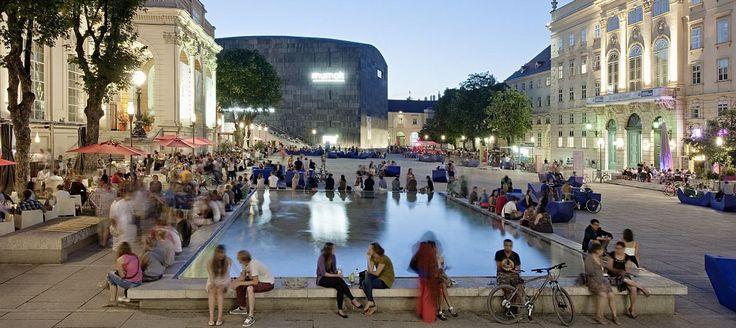 Goodnight.at, Nix is so schen wie da Summer in Wien, Sommer im MQ, c Hertha Hurnaus