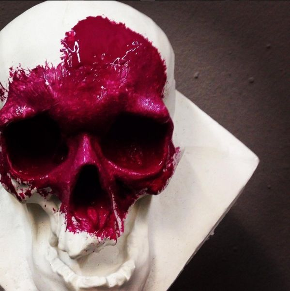 https://www.instagram.com/p/BC2lD8NnNnw/?taken-by=snuft Unusual interior items for the home. Skulls, lamps, decor, interior design.  skull, snuff, snuft, concrete, череп, art, interiordesign, interior, design.