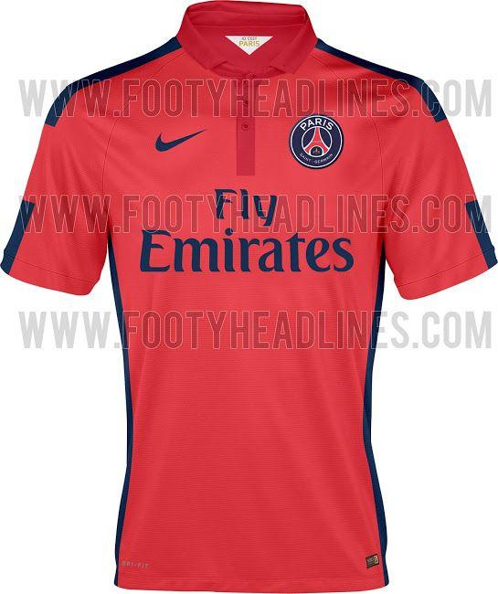 New Nike PSG 14-15 (2014-2015) Kits