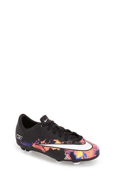 Nike 'Mercurial Victory V FG - Cristiano Ronaldo' Soccer Cleat (Little Kid & Big Kid) available at #Nordstrom
