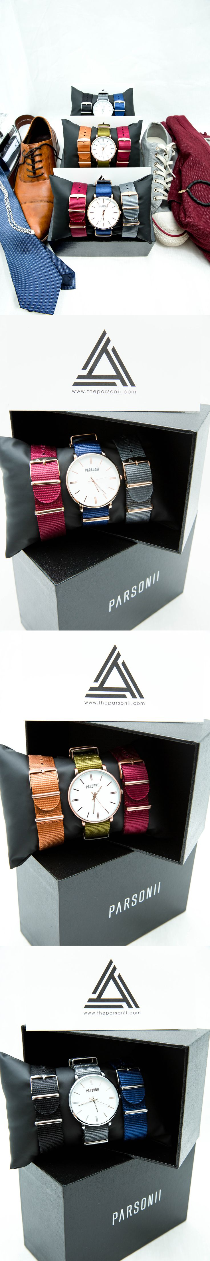 Compliment and coordinate, or mix and match? It's your choice. #TheParsonii
