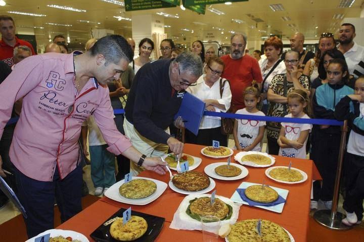Concurso de tortillas en Gran Canaria