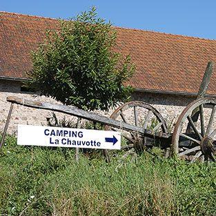 La Chauvotte - Camping / gites kleine camping 10 plekken met zwembad en table d hote. Tip voor 2016