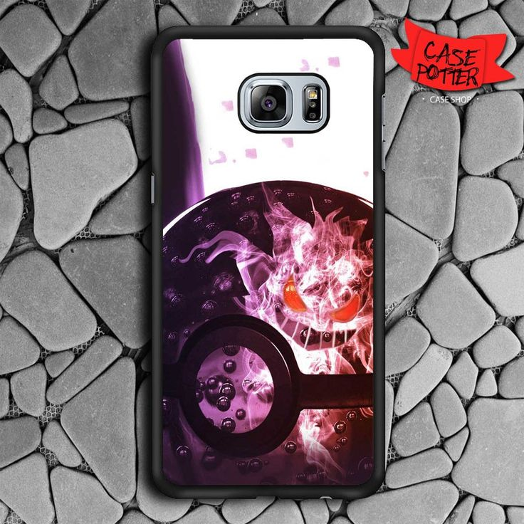 Pokeball Samsung Galaxy S6 Edge Plus Black Case