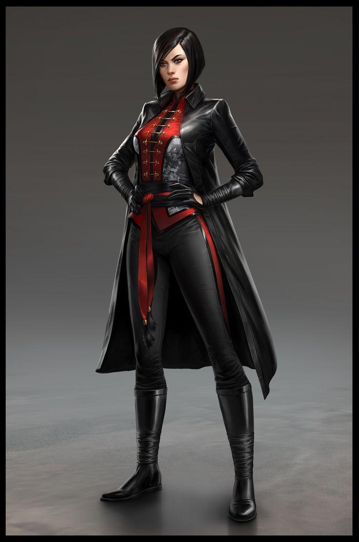 Batman: Arkham Origins Exclusive High-Resolution Lady Shiva Concept Art