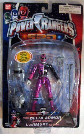 Amazon.com: Power Rangers SPD Pink Delta Armor: Toys & Games