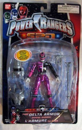 Amazon.com: Power Rangers SPD Pink Delta Armor: Toys & Games