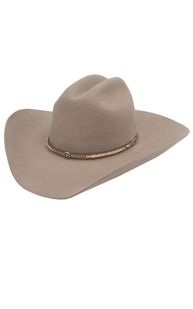 Master Hatters 3X Fawn Viper Felt Cowboy Hat