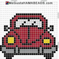 hama beads VW coccinelle
