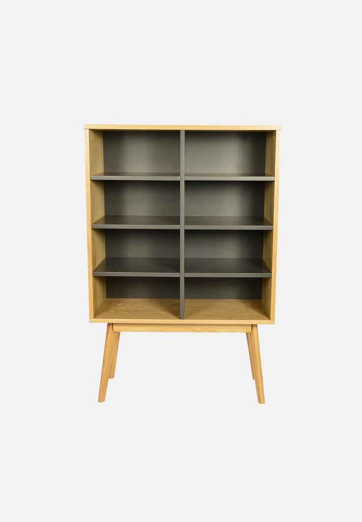 Radius bookshelf 8 - charcoal Sixth Floor Shelves | Superbalist.com