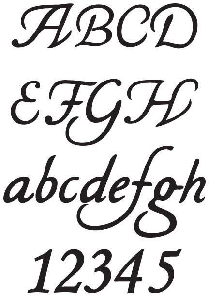 Légend image within wood burning letter stencils printable