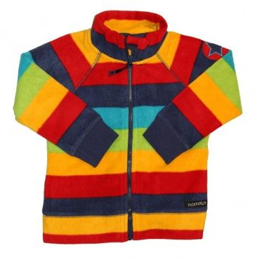 Villervalla Amsterdam Stripe Polar Fleece Jacket