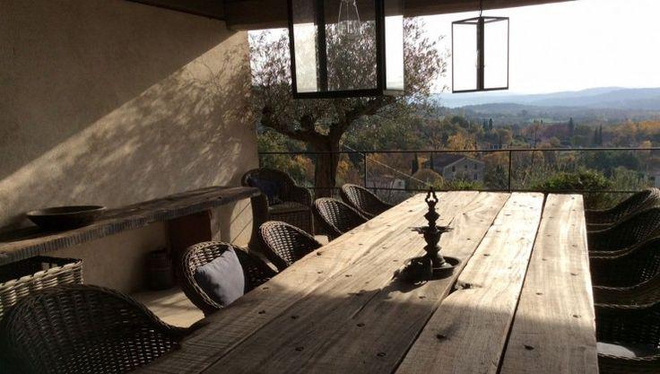 Rustikke udeborde i bæredygtigt træ - Thors-Design