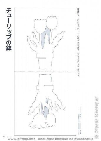 Открытка Киригами pop-up Pop Up открытки-киригами +шаблоны Бумага фото 5