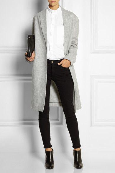Studio NicholsonBroadway wool-felt coat $1,035