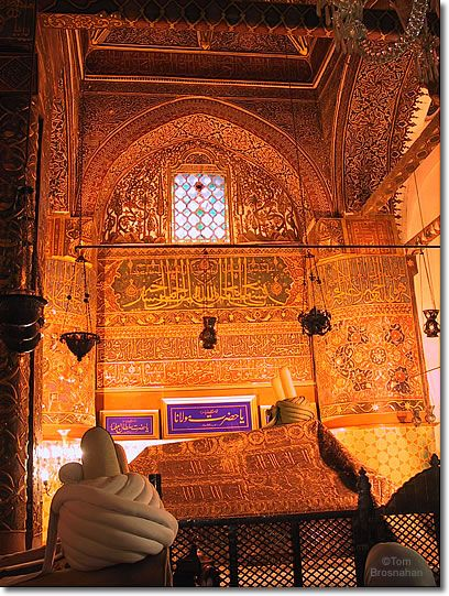 Tomb of Mevlana Jelaleddin Rumi, Konya, Turkey