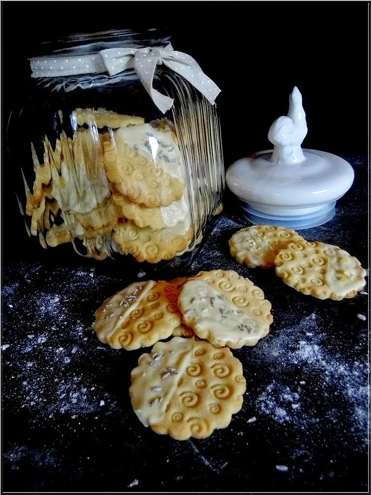 Limara péksége: Marcipános keksz levendulával és fehér csokival