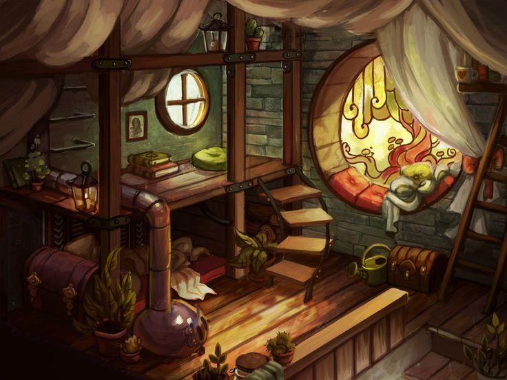 Klaaya`s room by Ewreilyn on deviantART