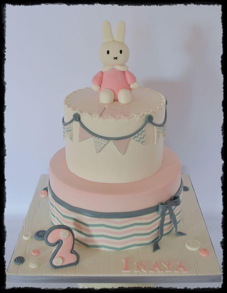 Miffy cake - gâteau Miffy
