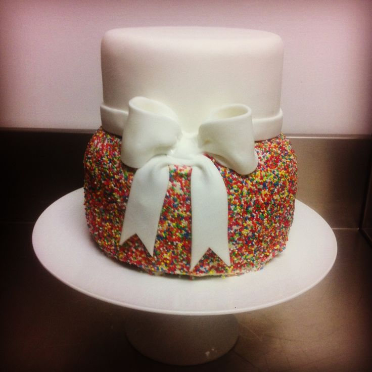 Hundreds and Thousands Cake by Alana Rose Cakes