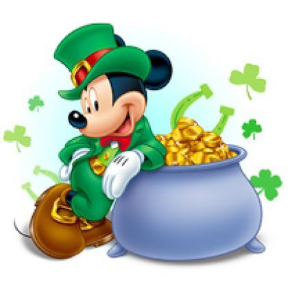 Disney St. Patricks Day