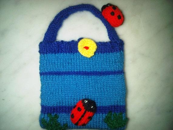 A girls ladybird and mouse handbag by BagsofCuriosity