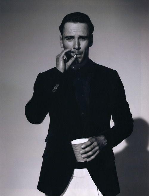 Michael Fassbender photographed by Robert Wyatt, 2009.