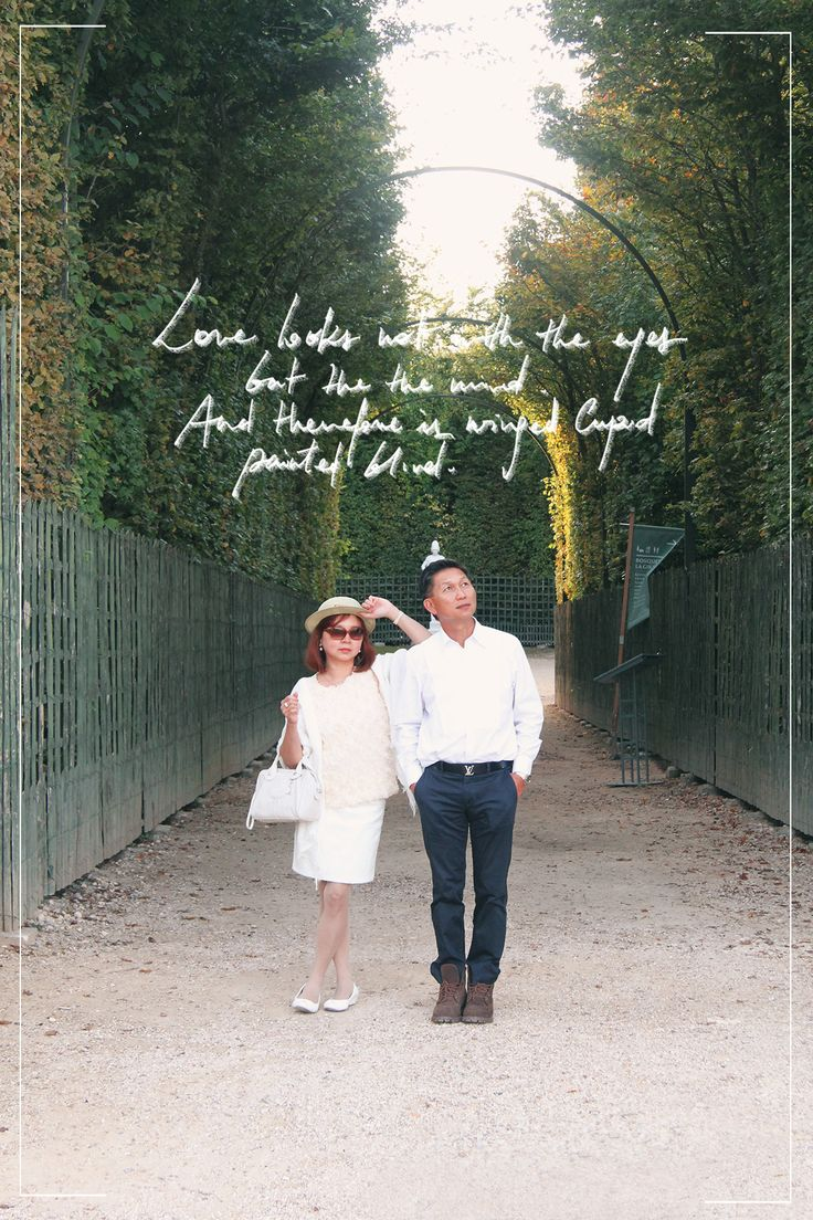 Jardins de Versailles //  #lovequotes #lovestory #white #couple #cute #anniversary