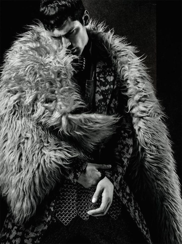 Sean O'Pry photographed by Jack Waterlot and styled by Amy Mach, for the latest issue of L'Officiel Hommes Middle East.