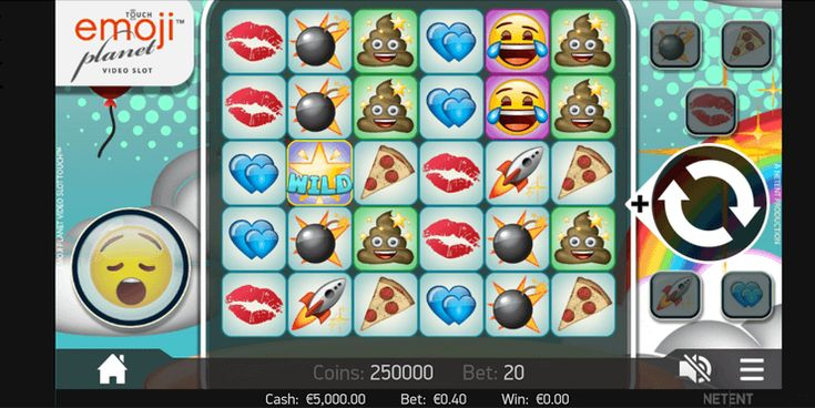 Der Emoji Planet Spielautomat: Test lesen und kostenlos spielen: