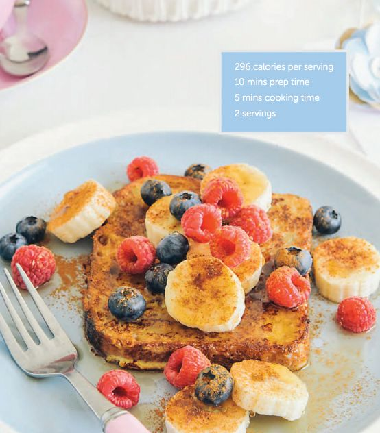 You don't have to forgo French toast! Try my healthy version: http://12w.bt/1iZSvSW
