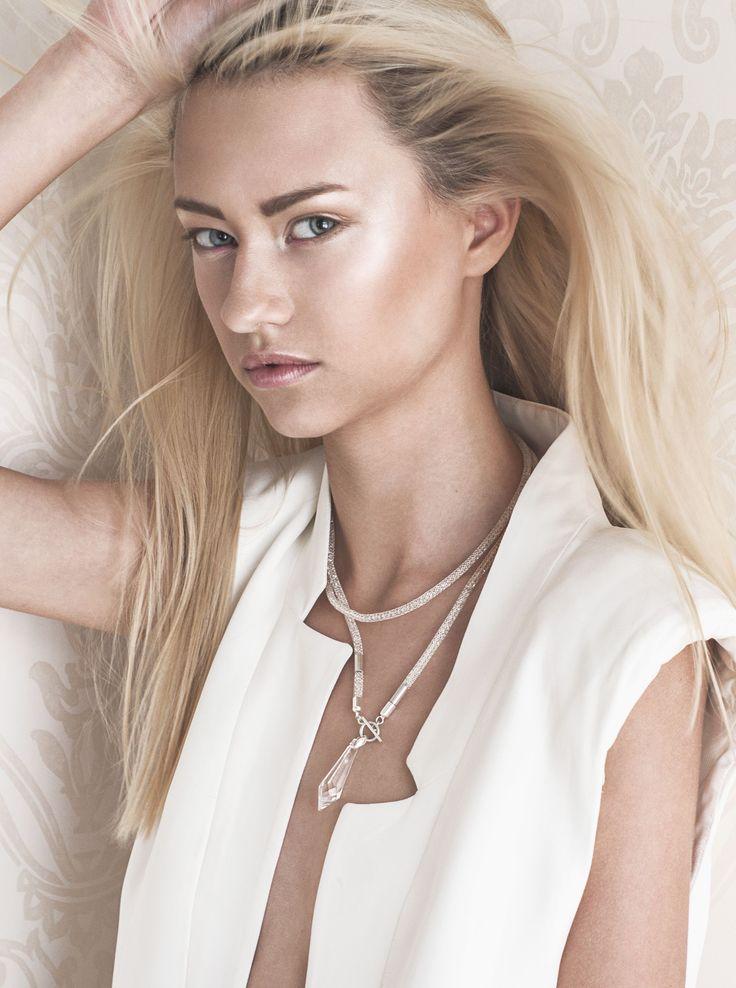 Photo by: Adrian Gachewicz Model: Julia Pratt (Avant Management) Make up: Jago Gortat Jewelry by Poplavsky