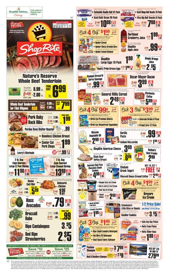 shoprite weekly circular flyer 02  09  20  15  20  with images