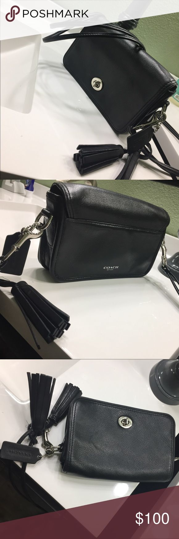 Coach legacy cross body purse Gently worn cross body.  In excellent condition.  Straps can be removed and used as a clutch. Coach Bags Crossbody Bags
