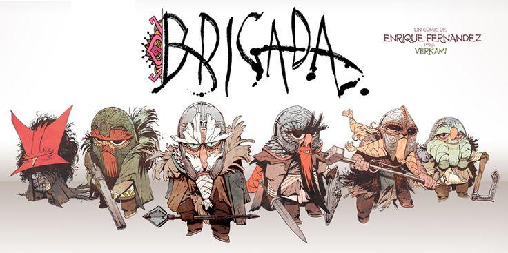 BRIGADA front by EnriqueFernandez.deviantart.com on @deviantART