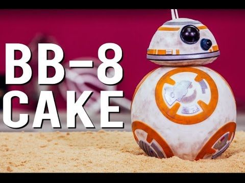 How To Make A STAR WARS BB-8 CAKE. Learn from Yolanda, the CAKE JEDI!