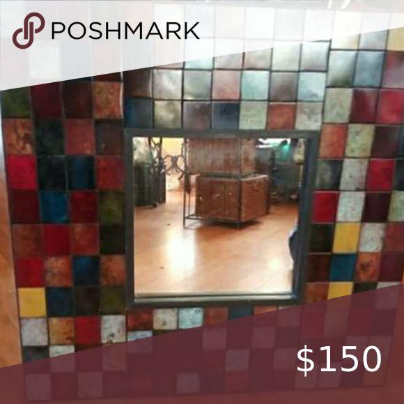 Pier one mosaic mirror in 2020 | Mirror wall art, Mosaic ...